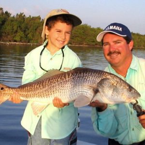 child and jim ross family fishing charters