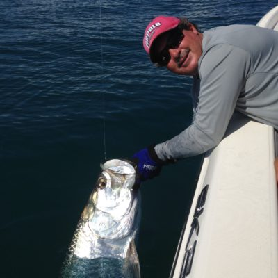 red rapala hat tarpon